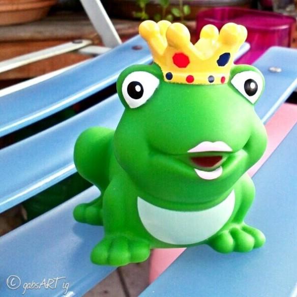 F wie küss den Frosch