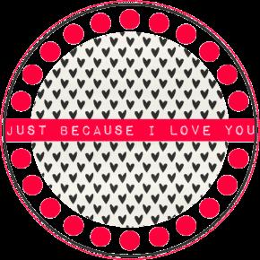 DIY - freebie Label Valentine