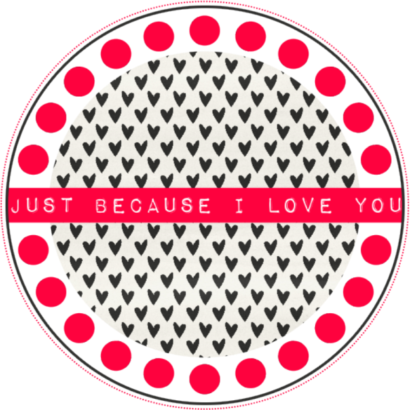 DIY - freebie Label Valentine