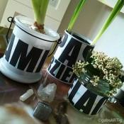 DIY - Milch als Kleber