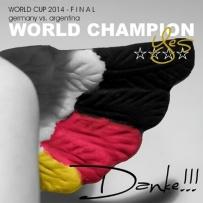 und YES - wir sind Weltmeister