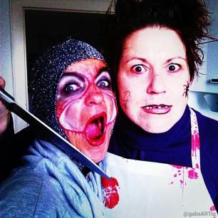 Halloween mit der BF
