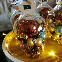 DIY - Adventskranz im Glas
